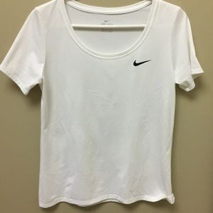 Nike Dry-fit white t- shirt